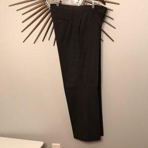 Calvin Klein 33 x 30 striped wool dress pant